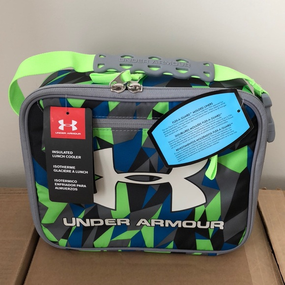 8681b17467 Under Armour Accessories | New Boys Lunch Box Cooler Geo Cache ...